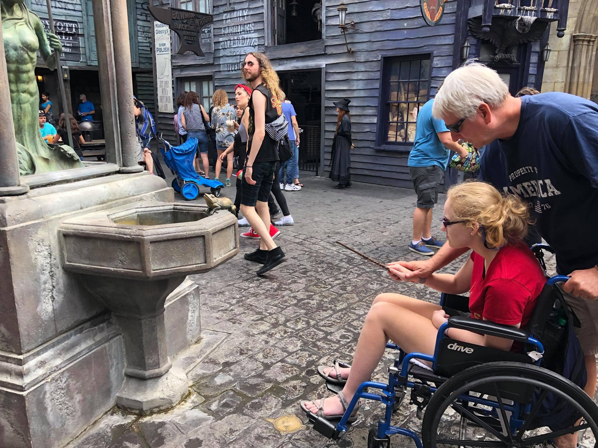 Emily's Harry Potter Trip