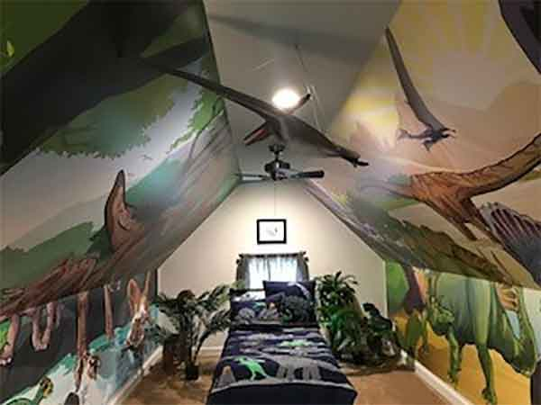 Avery's Dinosaur Room