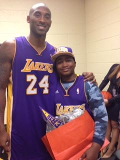 Ife's day with the LA Lakers