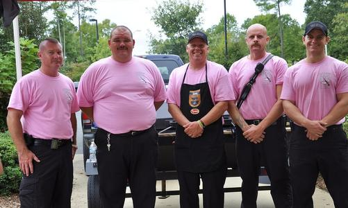 The Holly Springs Fire Department volunteers at the 4@4 Race each year.