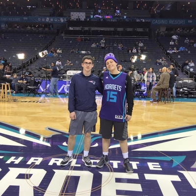 Noah's Hornets Basketball Game